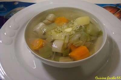 Soupe brûle-graisse